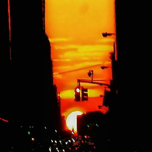 Beautiful Shots Of The Sun From Manhattan (19 pics)