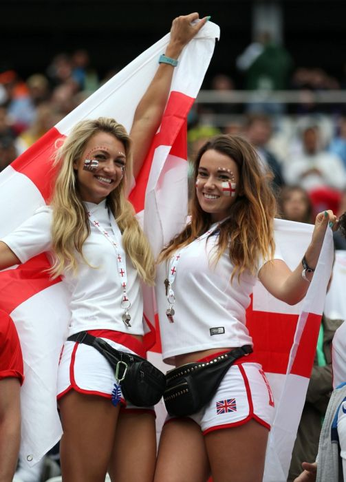Hot Babes Represent Their Team At The World Cup (26 pics)