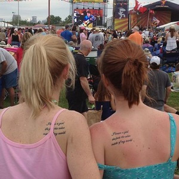 40 Beautifully Touching Mother/Daughter Tattoos (40 pics)