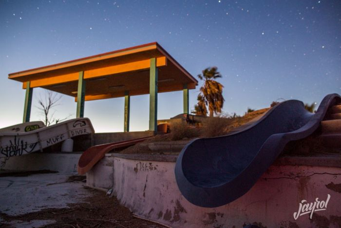 This Abandoned Water Park Looks A Little Sad (38 pics)