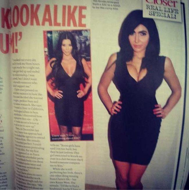 She Spent A Fortune To Look Like Kim Kardashian (17 pics)
