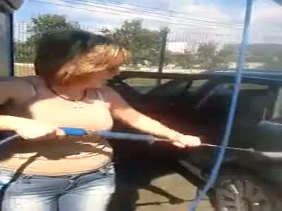 Epic Way To Wash A Car