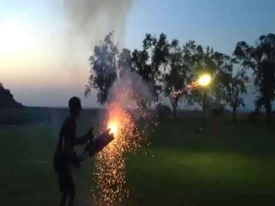 Awesome Roman Candle Hand-Made Gun