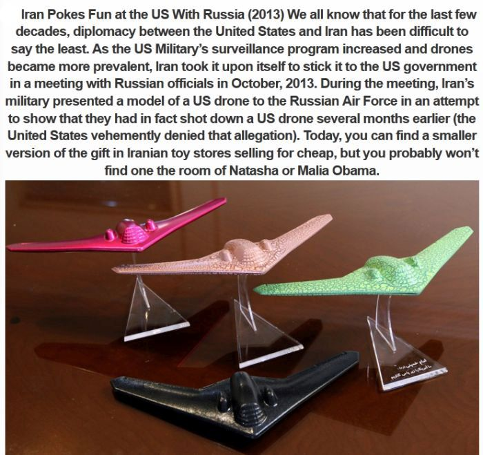 The Strangest Gifts Given By The Government (10 pics)