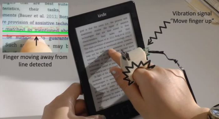 Amazing Invention Helps Blind People Read (9 pics)