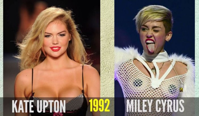 You Didn't Know These Celebrities Are The Same Age (16 pics)