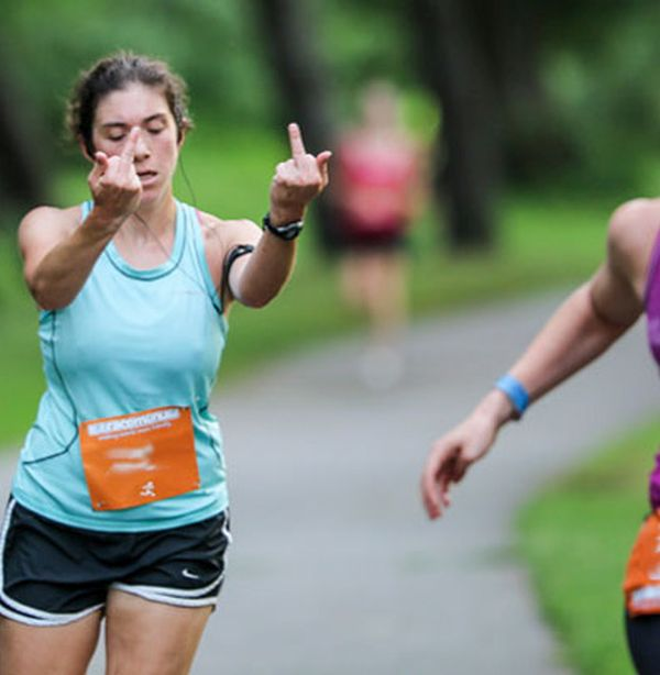 That Face You Make When You Lose The Race (9 pics)