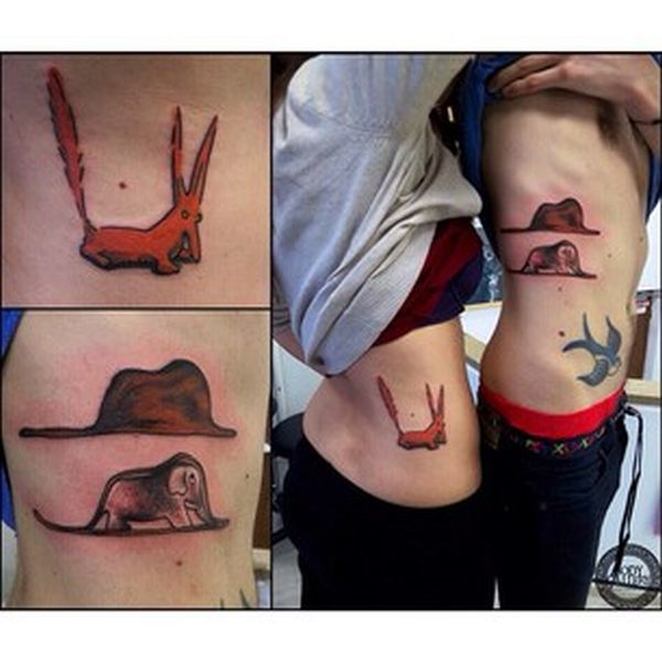 These People Are Doing Couple Tattoos Right (43 pics)