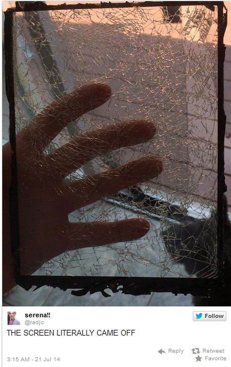 Why You Need To Be Careful With Your iPad (3 pics)