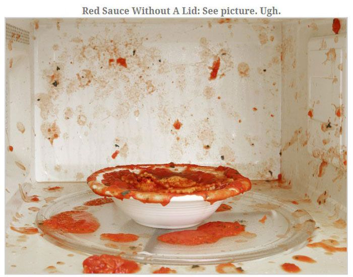 Don't Ever Put These Things In The Microwave (13 pics)