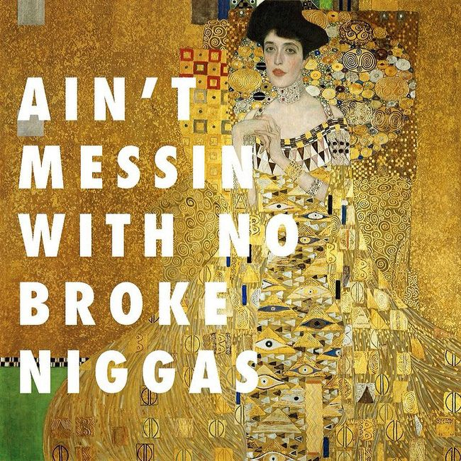 When Classic Art Crosses Over With Hip Hop Lyrics (16 pics)