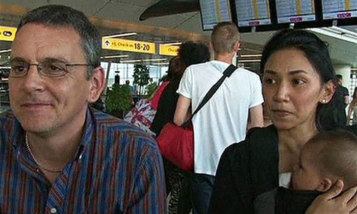 Couple Almost Boarded Malaysia Airlines Flight MH17 (3 pics)