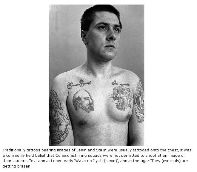 The Hidden Meaning Behind Russian Prison Tattoos (15 pics)