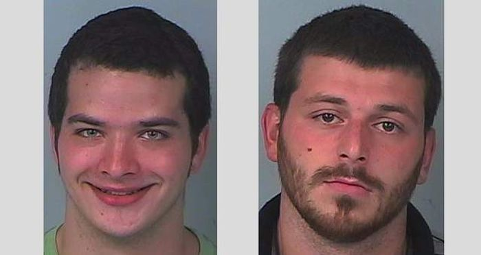 Stoners Break Into A School To Steal Snacks (5 pics)
