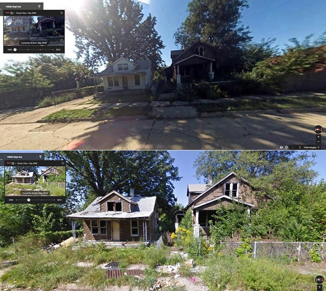 Shocking Decline of Detroit's Neighborhoods (16 pics)