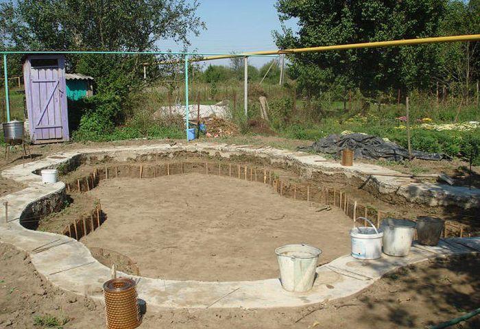 Custom built diy swimming pool 20 pics for Building an inground pool