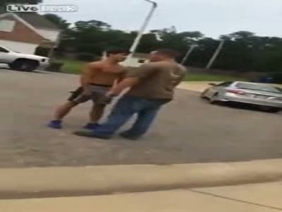 Epic Fight 17 Year Old Vs 34 Year Old