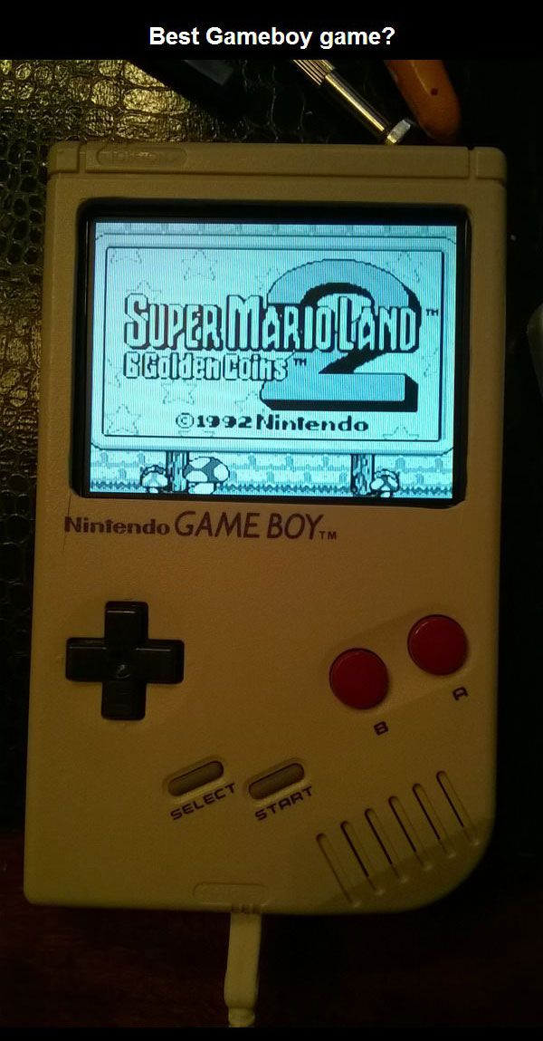 A Custom Version Of The Nintendo Gameboy (10 pics)