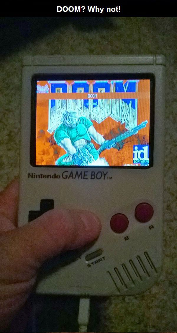 A Custom Version Of The Nintendo Gameboy (10 pics)