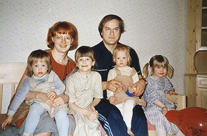 Childhood Photos Are The Better The Second Time (58 pics)