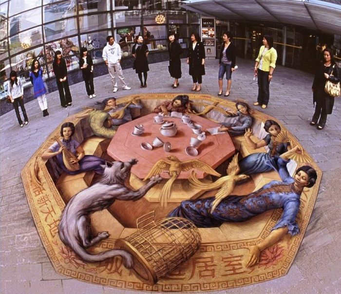 3D Street Art That Will Blow Your Mind (36 pics)