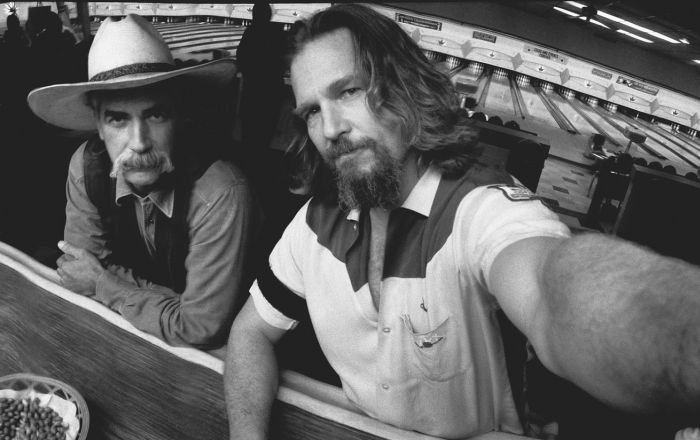 Candid Behind The Scenes Photos By Jeff Bridges (17 pics)