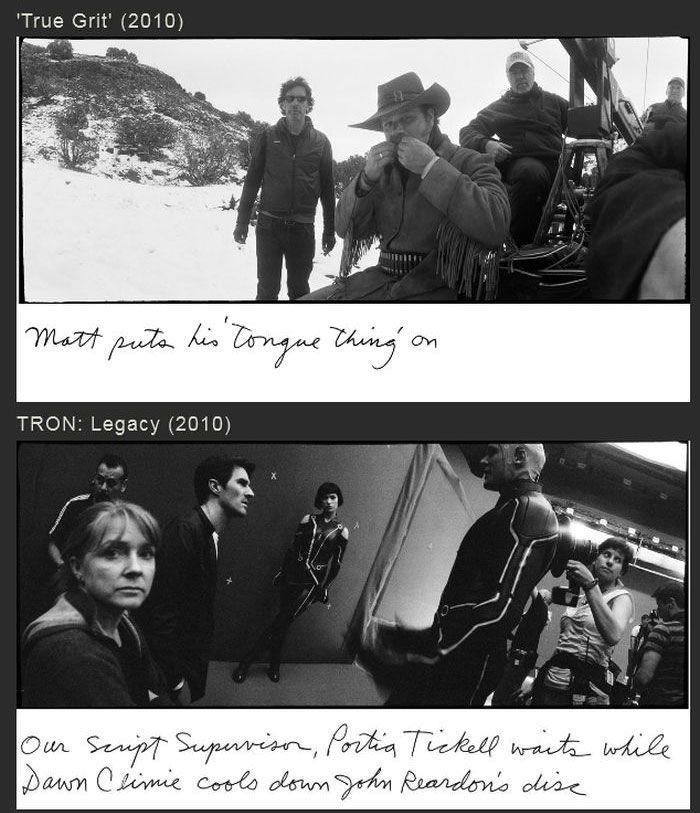 Candid Behind The Scenes Photos By Jeff Bridges (17 pics)