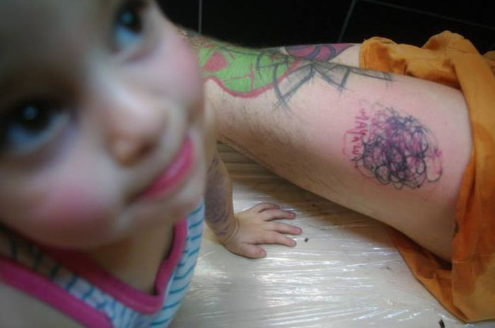 Would You Get A Tattoo From Her? (17 pics)