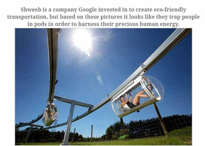 Is Google Plotting World Domination? (11 pics)