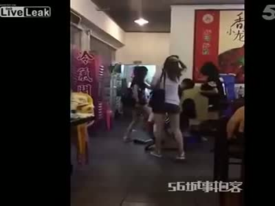Epic Fight At The Bar