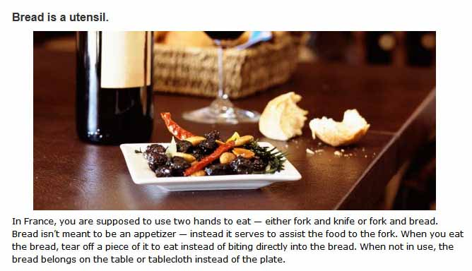 Dining Tips For Eating In Different Countries (13 pics)