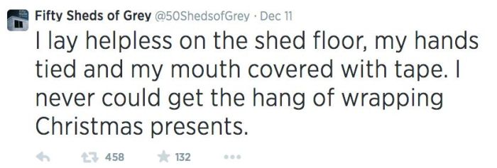 Fifty Shades Of Grey Makes For Great Parody Tweets (14 pics)