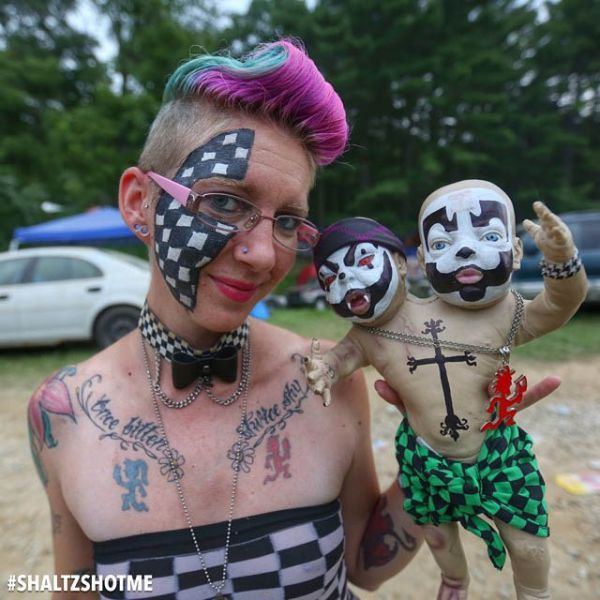 Candid Photos From The Gathering Of The Juggalos (31 pics)