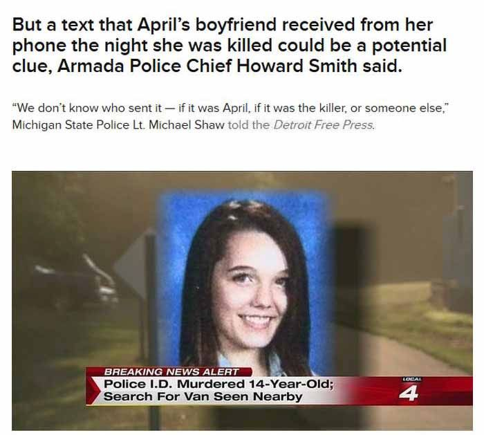 The Final Text From A Murdered Michigan Teen (8 pics)