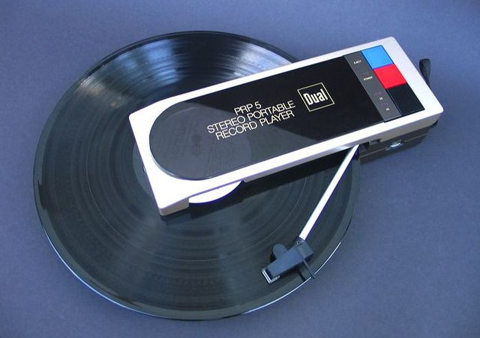 Weird Looking Portable Record Player (7 pics)