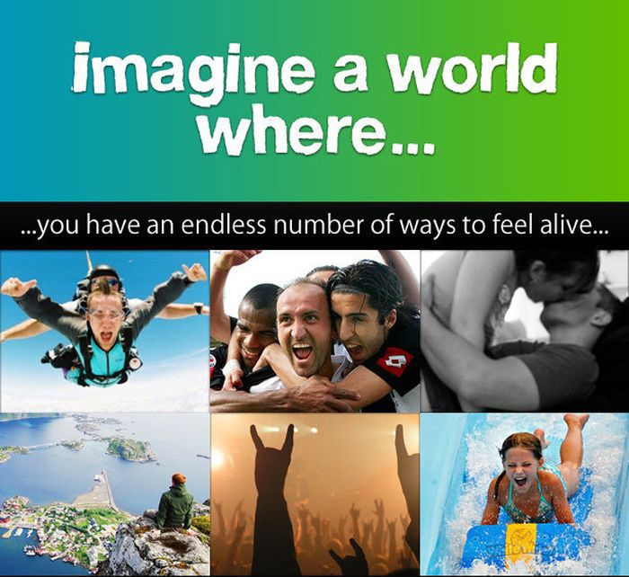 You Need To Imagine A World Where (5 pics)
