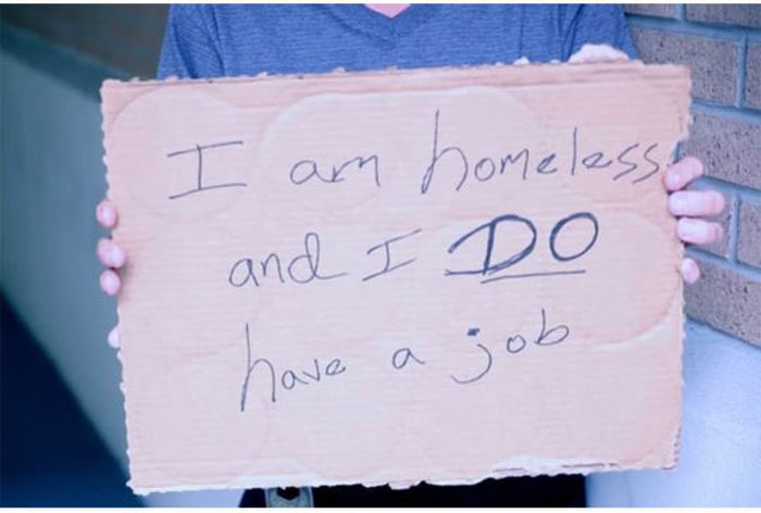 Homeless People Are Not Who You Think They Are (19 pics)