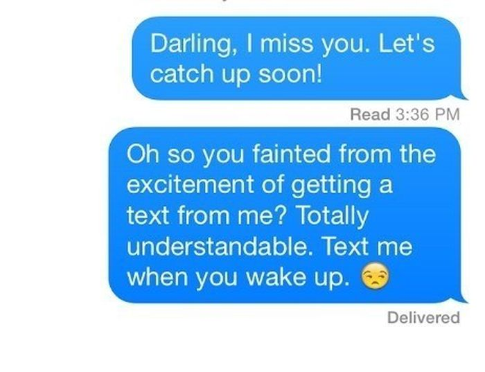 How To Respond To Someone Who Doesn't Text Back (17 pics)