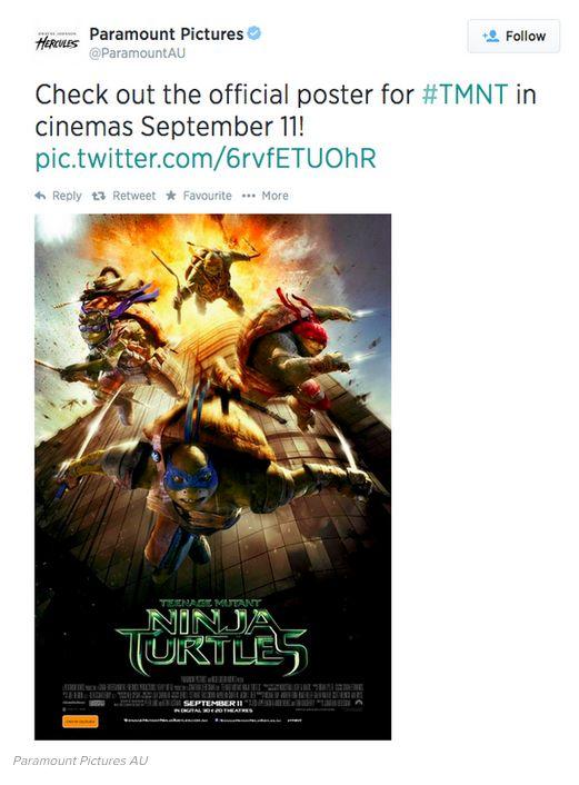 "Controversial ""Teenage Mutant Ninja Turtles"" Poster (2 pics)"