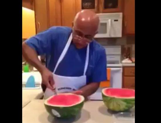 Great Watermelon Life Hack