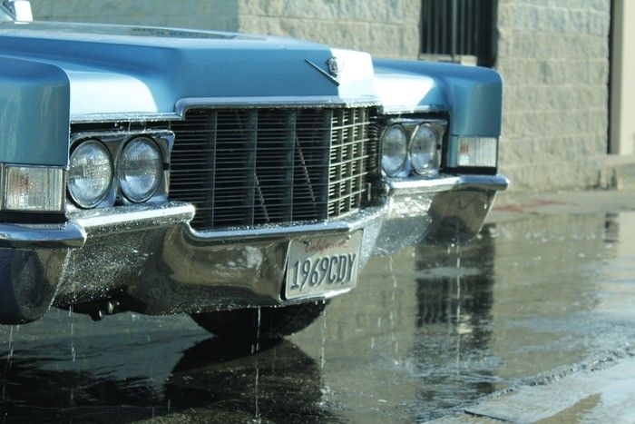 1969 Cadillac Converted Into A Mobile Hot Tub (20 pics)