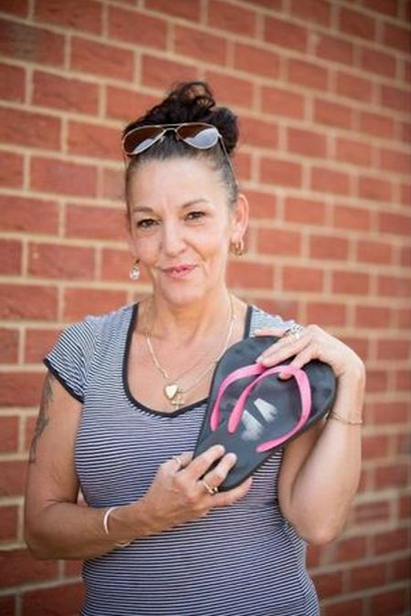How A Pair Of Flip Flops Saved A Woman's Life (3 pics)