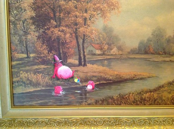 Popular Characters Make Old Paintings Much Cooler (49 pics)
