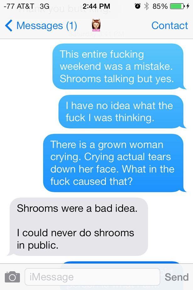 Man On Shrooms Has Crazy Trip At Comic Con (11 pics)