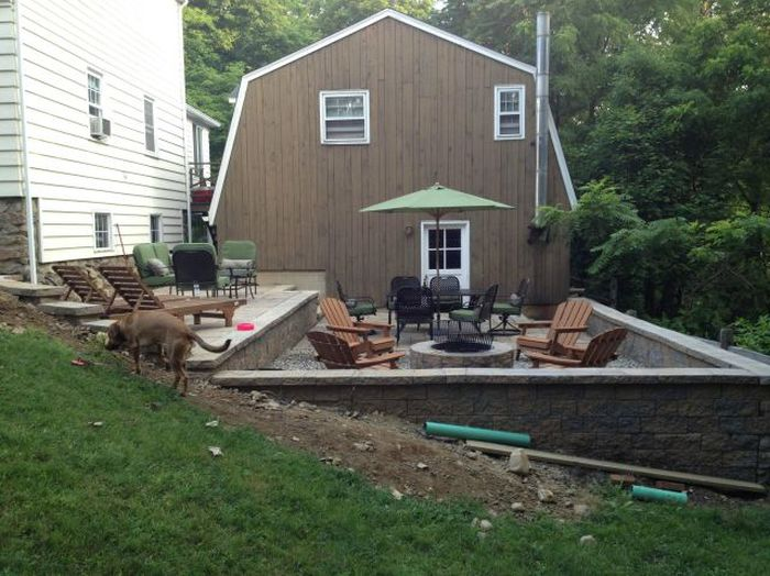 This Backyard Goes From Bland To Best Yard Ever (44 pics)