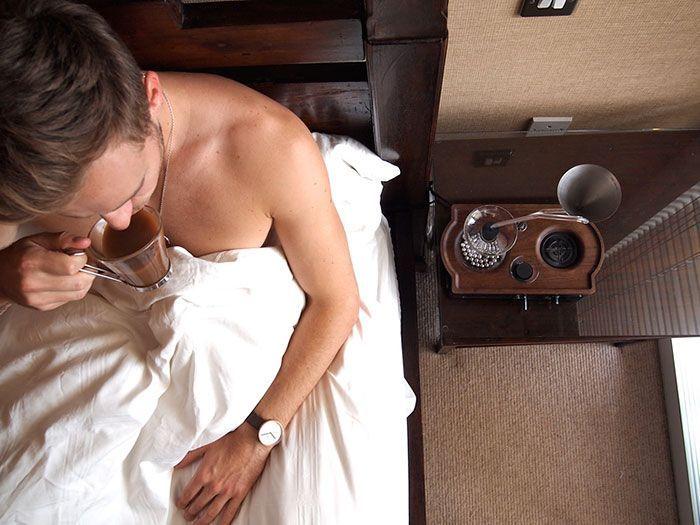 Everyone Needs A Coffee Alarm Clock (12 pics)
