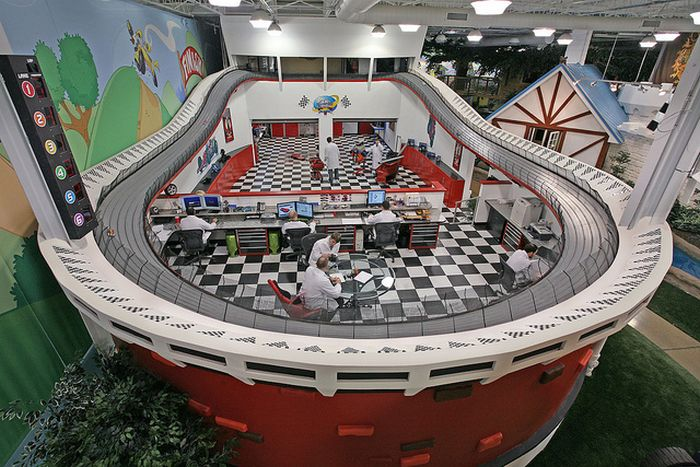 Companies With The Coolest Office Designs (39 pics)