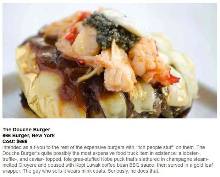 The 10 Most Expensive Burgers On Planet Earth (10 pics)
