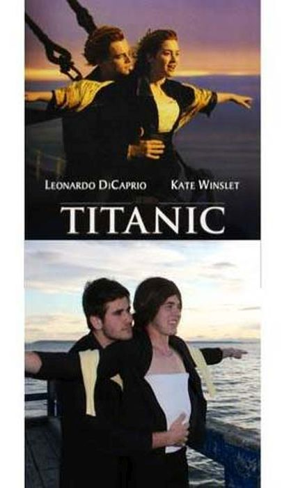 Movies Posters Recreated In Real Life (15 pics)
