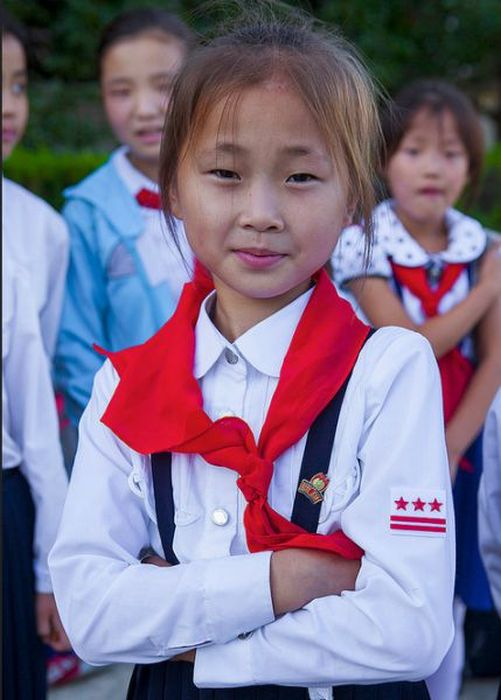 Life Inside Of A North Korean Summer Camp (49 pics)